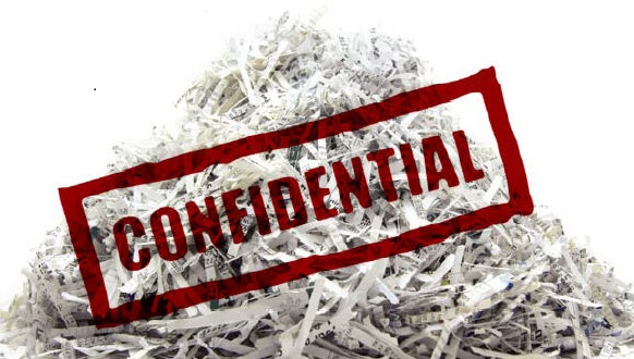 Document destruction in Scarborough, Maine